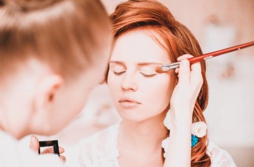 Maquillage de mariée avec essai