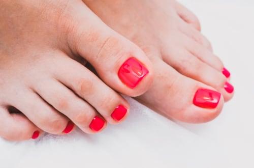 Beauté des pieds & vernis semi-permanent