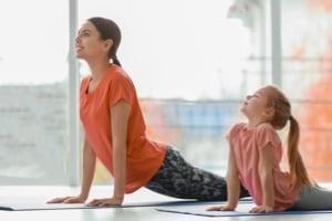 Yoga enfants en visio 40mn
