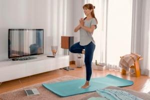 Yoga dynamique en visio 60mn