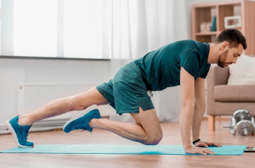 Cardio training en visio 40mn