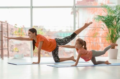 Fitness enfants en visio 40mn à domicile