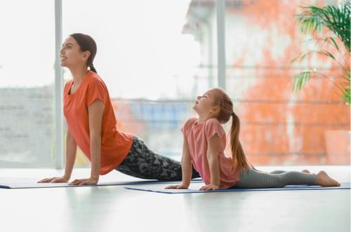 Yoga enfants en visio 40mn à domicile