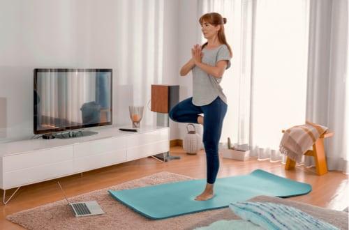 Yoga dynamique en visio 40mn