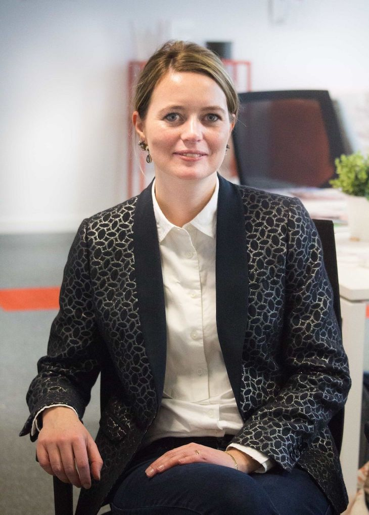 Portrait de Fanny, Responsable marketing de la start-up Wecasa