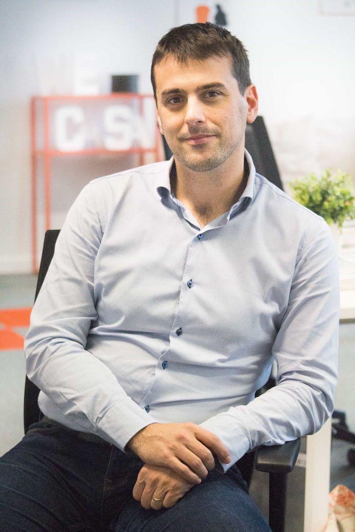 Portrait de Pierre, Directeur Général de la start-up Wecasa
