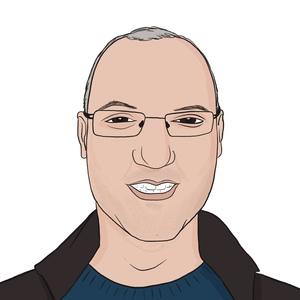 Portrait dessiné de Abdelhamid