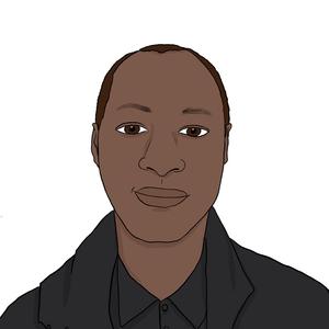Portrait dessiné de Abdou