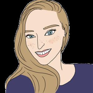 Portrait dessiné de Agathe