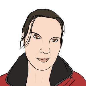 Portrait dessiné de Alina
