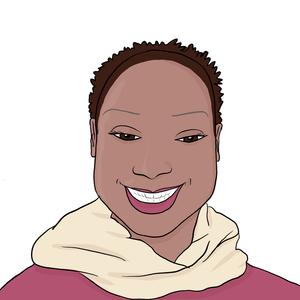 Portrait dessiné de Aminata