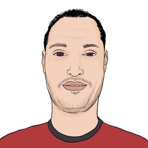 Portrait dessiné de Belal