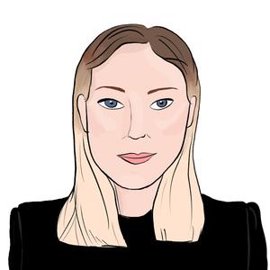 Portrait dessiné de Bérangère