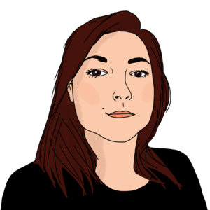 Portrait dessiné de Carole
