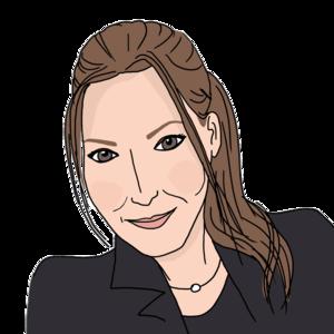 Portrait dessiné de Charlotte