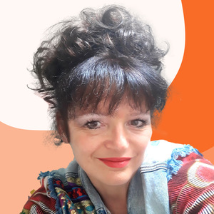 Portrait dessiné de Christelle