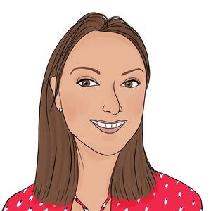 Portrait dessiné de Cloé