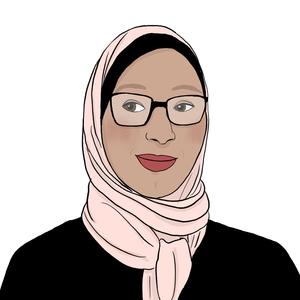 Portrait dessiné de Fatima