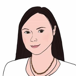 Portrait dessiné de Gabriela