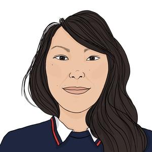 Portrait dessiné de Gwendoline