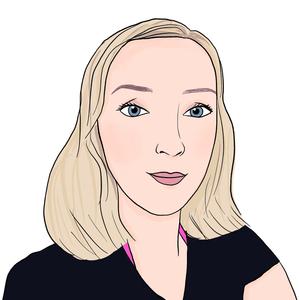 Portrait dessiné de Hélène