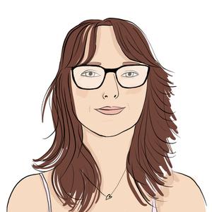 Portrait dessiné de Isabelle