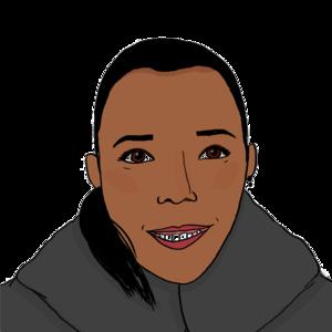 Portrait dessiné de Jennifer