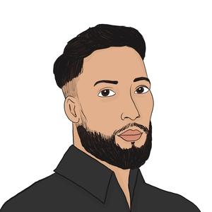 Portrait dessiné de Jordan