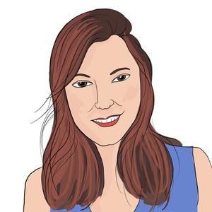 Portrait dessiné de Juliette