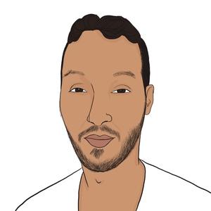 Portrait dessiné de Khalid