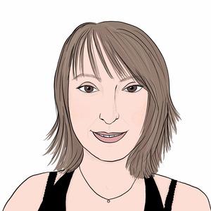 Portrait dessiné de Muriel