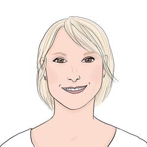 Portrait dessiné de Nathalie