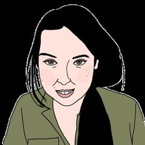 Portrait dessiné de Ouarda