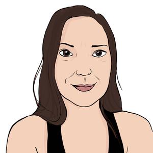 Portrait dessiné de Rebecca