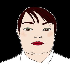 Portrait dessiné de Sabrina