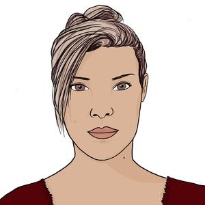 Portrait dessiné de Saida