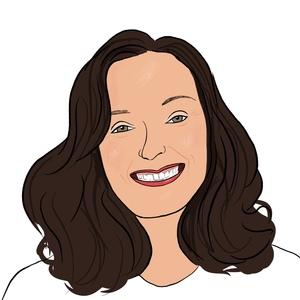 Portrait dessiné de Sandy