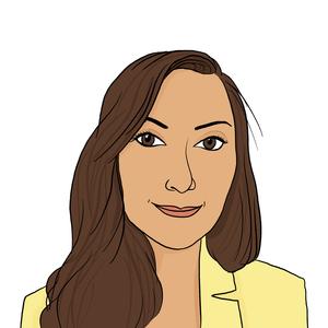 Portrait dessiné de Tatiana