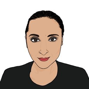 Portrait dessiné de Vanessa