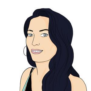 Portrait dessiné de Veronique