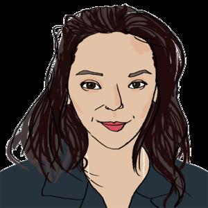 Portrait dessiné de Ysabelle