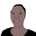 Portrait dessiné de Carmida Helena
