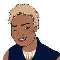 Portrait dessiné de Mireine