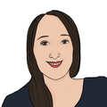 Portrait dessiné de Samia