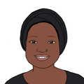 Portrait dessiné de Yasmine