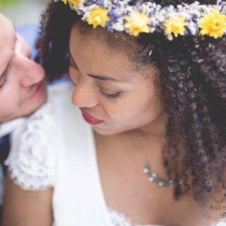 Mise en beauté de mariée élégante et naturelle : Murielle