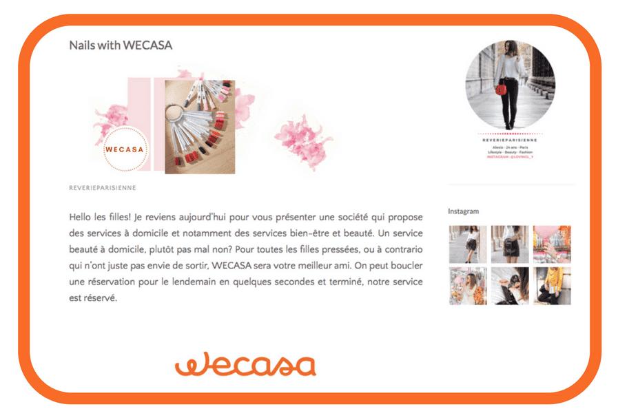 Blogueuse Alexia