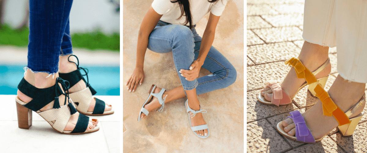 Sandales et vernis à ongles : 15 idées stylées pour vos pieds !