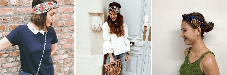 Tot Paris créateur headbands