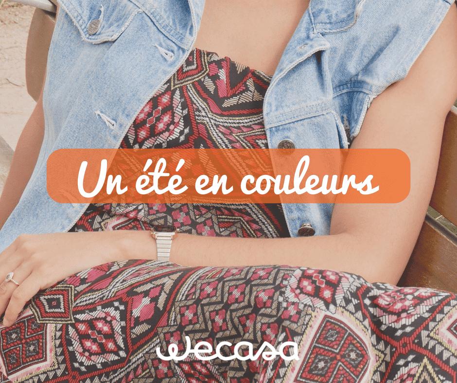 un été en couleurs avec Wecasa